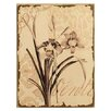 Mario Industries Floral Painting Print on Wrapped Canvas
