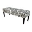 MJL Furniture Noah Upholstered Bench