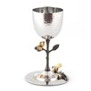 Classic Touch Tervy Pomegranate Goblet