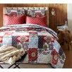 Cozy Line Home Fashion Vintage 3 Piece Full/Queen Quilt Set