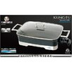 """Cookinex Kung Fu """"Master"""" 10.5-qt. Electric Skillet with Glass Lid"""
