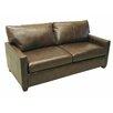 """LaCrosse Furniture Sleeper Loveseat with 6"""" Hybrid Memory Foam Mattress"""