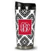 Chatsworth Marakesh Script Monogram Travel Tumbler