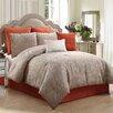 VCNY Roxbury 8 Piece Comforter Set