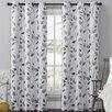 VCNY Leaf Drape Single Curtain Panel