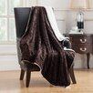VCNY Camilla Embossed Mink Reversible Throw