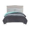 VCNY Lauren Chevron Plush Comforter