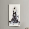 Madison Park Belle of the Ball by Elise's Green Painting Print on Wrapped Canvas
