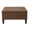 Madison Park Lindsey Tufted Square Cocktail Ottoman