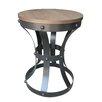 Madison Park Ridge Rustic Pedestal Top Table