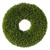 "Established 98 11"" Faux Grass Seed Wreath"