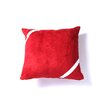 Brite Ideas Living Passion Suede Bubble Ribbon Throw Pillow