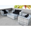 Solis Patio Magna 4 Piece Seating Group with Cushion