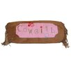 Carstens Inc. Cowgirl Bolster Pillow