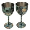 Rivers Edge Camouflage Wine Glass (Set of 2)