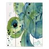 DiaNoche Designs Sea Turtle by Dawn Derman Painting Print on Wood Planks
