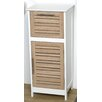 """Evideco Stockholm 14.4"""" x 32.7"""" Free Standing Cabinet"""