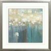"Star Creations ""Aqua Light"" by Karen Lorena Parker Framed Painting Print"