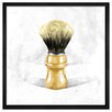 The Art Cabinet Shave Brush by Hatcher and Ethan Framed Painting Print