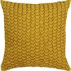 Welspun Spun Threads with a Soul® Smocking Handcrafted Throw Pillow