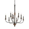 Quoizel Odell 9 Light Candle Chandelier