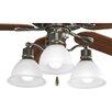Progress Lighting Madison Three Light Branched Ceiling Fan Light Kit