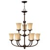 Hinkley Lighting Thistledown 9 Light Chandelier