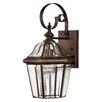 Hinkley Lighting Augusta 1 Light Wall Lantern