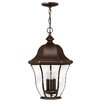 Hinkley Lighting Monticello 3 Light Outdoor Hanging Lantern