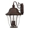 Hinkley Lighting Monticello 3 Light Wall Lantern