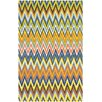 Safavieh Cedar Brook Blue / Yellow Striped Contemporary Area Rug