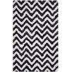 Safavieh Barcelona Shag Hand-Tufted Graphite/Ivory Area Rug