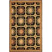 Safavieh Easy Care Hand-Hooked Black / Yellow Area Rug