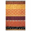 Safavieh Rodeo Drive Collage Rust/Gold Area Rug