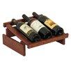 Wooden Mallet Dakota 3 Bottle Wine Rack