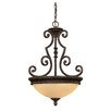 Savoy House Knight 2 Light Bowl Inverted Pendant