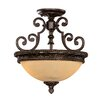Savoy House Knight 2 Light Semi Flush Mount