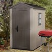 Keter Factor 4 Ft. W x 6 Ft. D Resin Storage Shed