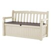 Keter All Weather Outdoor 70 Gallon Storage Bench