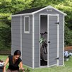 Keter Manor 4 Ft. W x 6 Ft. D Resin Storage Shed