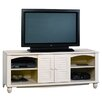 Sauder Harbor View Antiqued Paint TV Stand