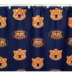 College Covers NCAA Auburn Cotton Printed Shower Curtain