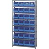 Quantum Storage Giant Open Hopper Shelf Storage System