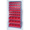 Quantum Storage H Giant Hopper Shelf Storage System with Various Bins (Complete Package)