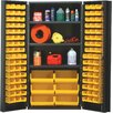 "Quantum Storage 72"" H x 36"" W x 24"" D Welded Storage Cabinet"