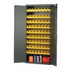 Quantum Storage Pick Rack Storage Cabinet with Economy Shelf Bins