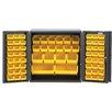 """Quantum Storage 36"""" H x 36"""" W x 24"""" D Mini Storage Cabinet"""