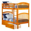Atlantic Furniture Richland Twin Bunk Bed with Storage