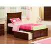 Atlantic Furniture Metro Twin XL Platform Bed