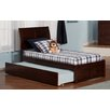Atlantic Furniture Urban Lifestyle Portland Panel Bed with Trundle